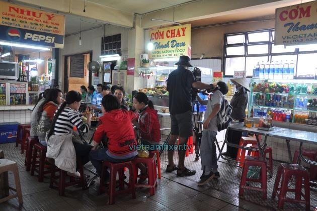We work ethnic on Vietnam film fixer