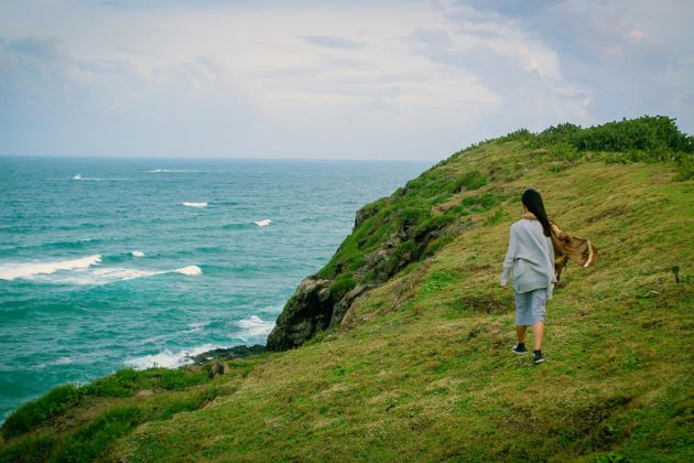 bai xep in phu yen is beautiful for natural scenes
