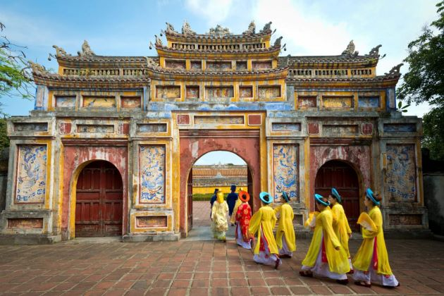 hue imperial citadel is wonderful destination for your film production