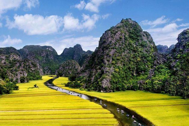 trang an landscape complex appear in kong island vietnam
