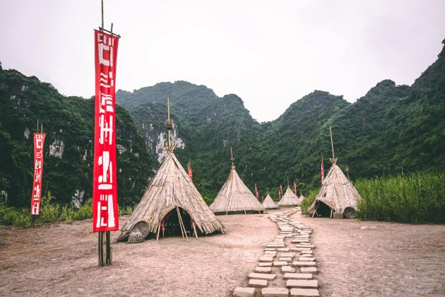 tribal village in king kong island vietnam
