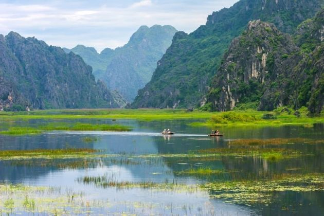 van long natural reserve in ninh binh king kong